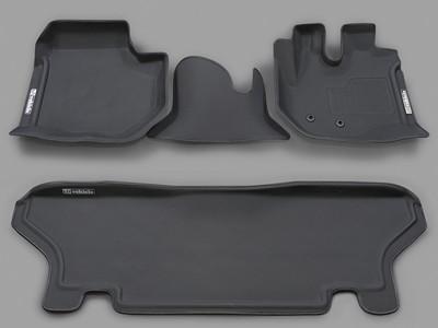 ハイエース 200系 スーパーGL専用 3Dラバーマット フロント + リア セット